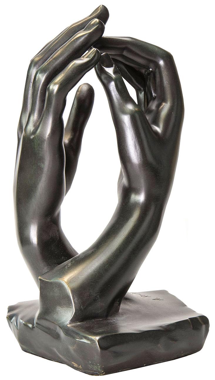 """Skulptur """"Die Kathedrale"""" (1908), Version in Kunstbronze"""