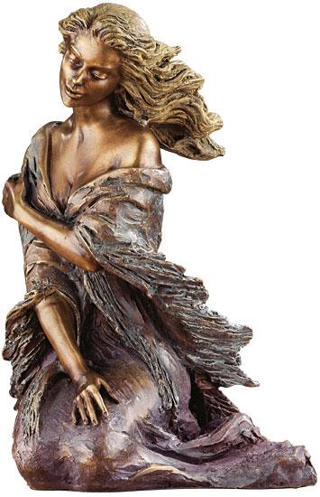 """Skulptur """"Breeze"""", Bronze"""