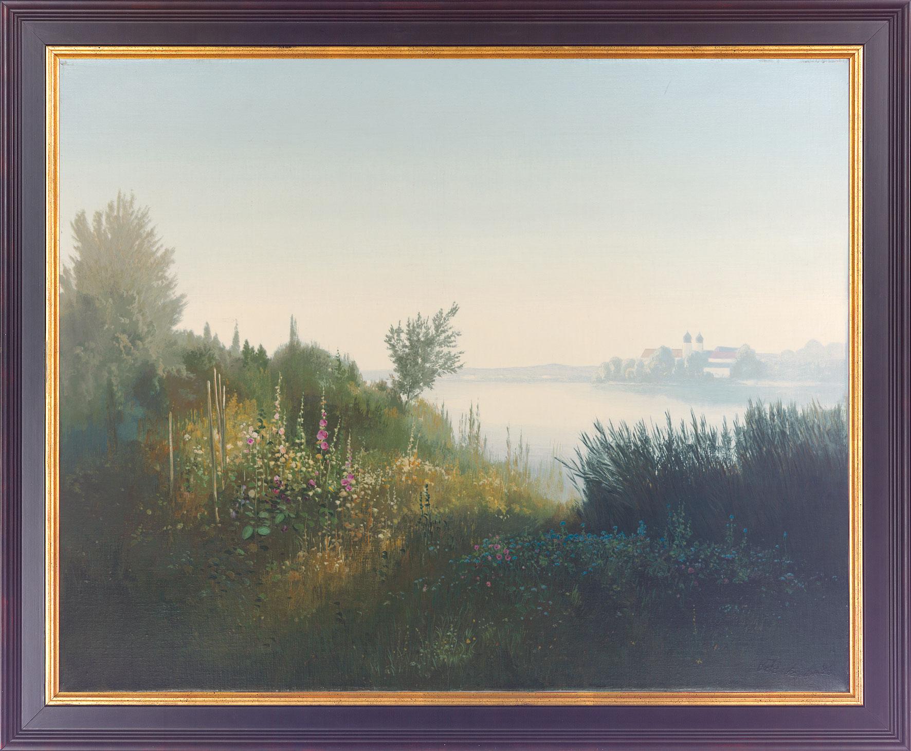 """Bild """"Kloster Seeon"""", gerahmt"""