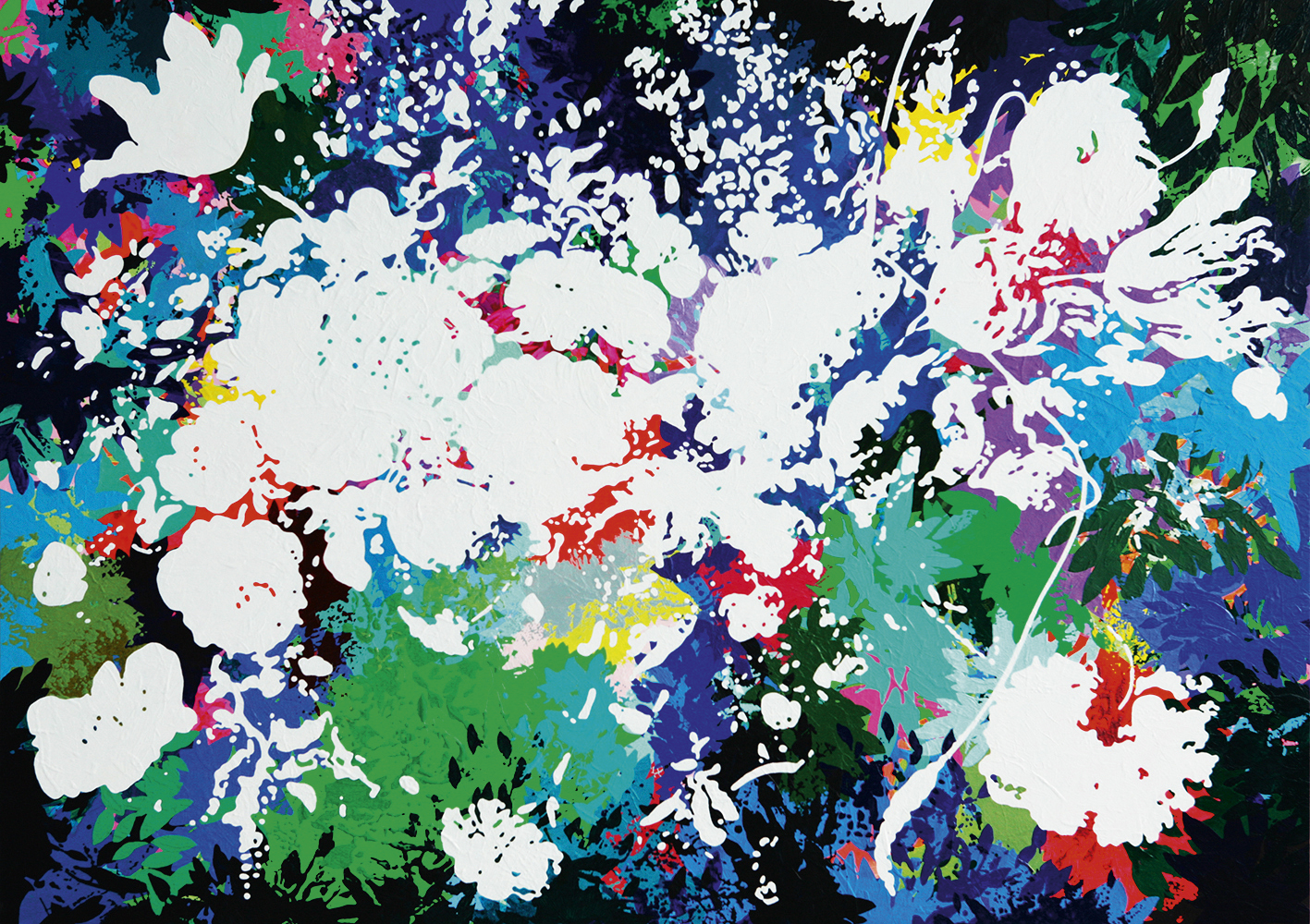"Bild ""Interspace 10.15"" (2015) (Unikat)"