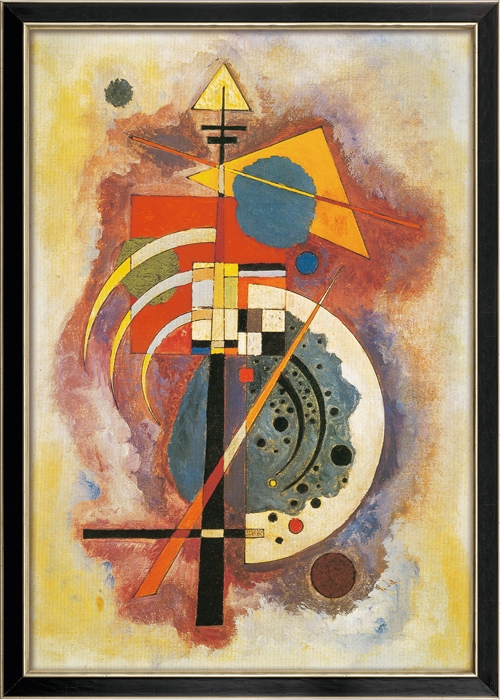"Bild ""Hommage à Grohmann"" (1926), gerahmt"