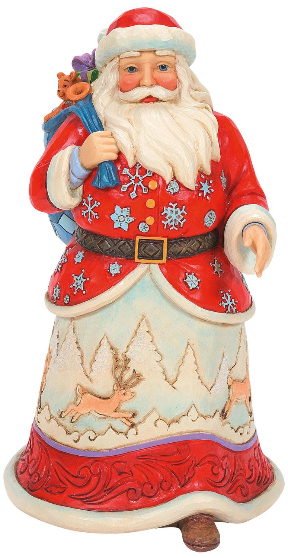 """*For X-Mas*: Deko-Figur """"Weihnachtsmann"""", bunt"""