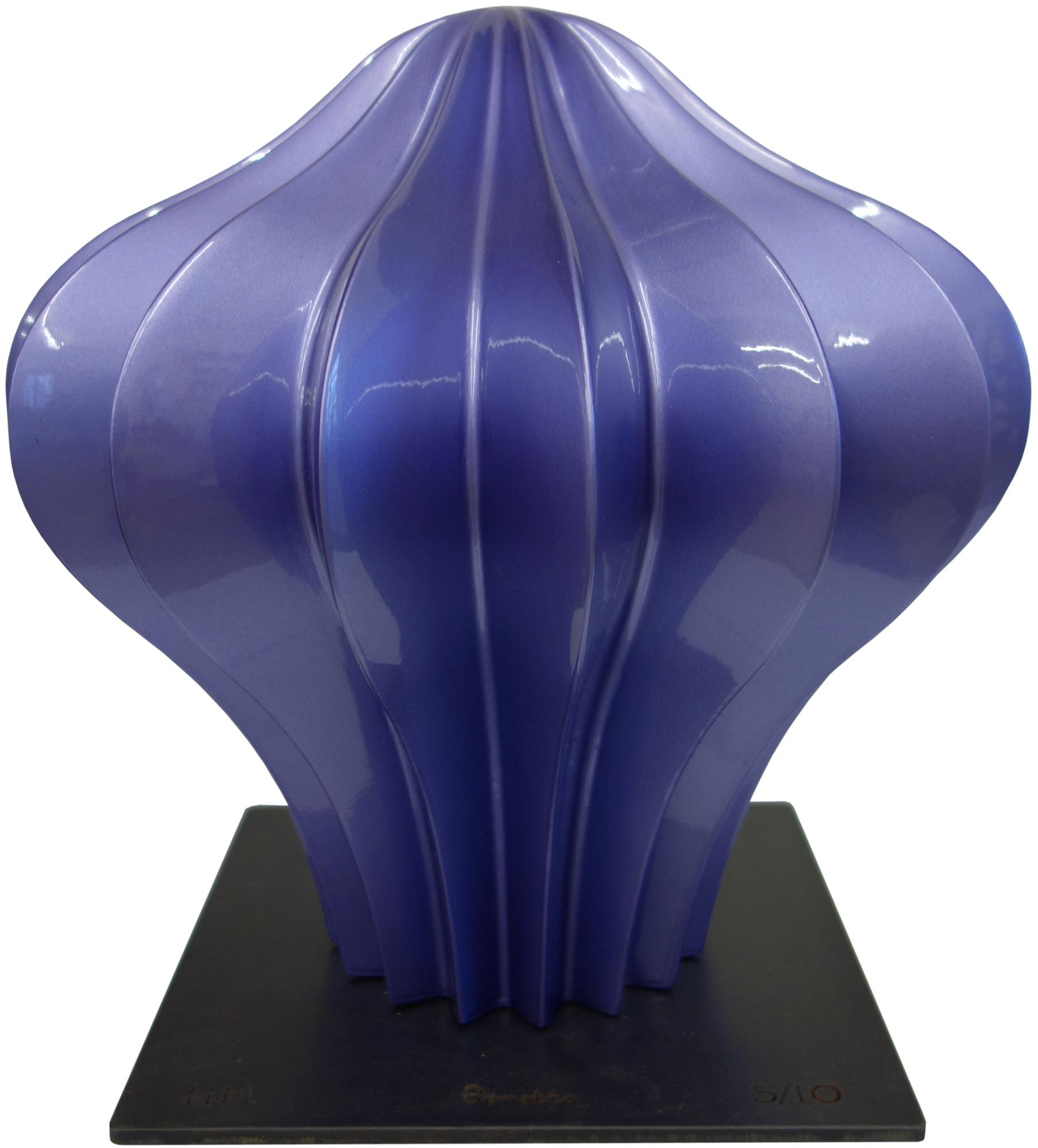 """Skulptur """"Beretto Alu, purple"""" (2016)"""