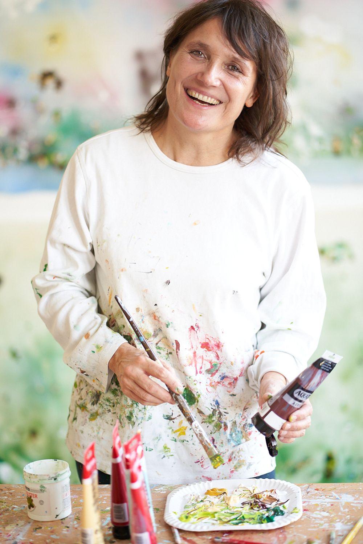Portrait der Künstlerin Christine Müller