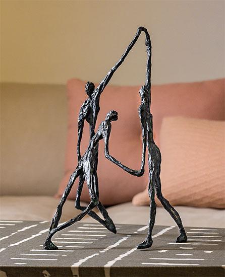 """Skulptur """"To Encourage"""", Bronze"""