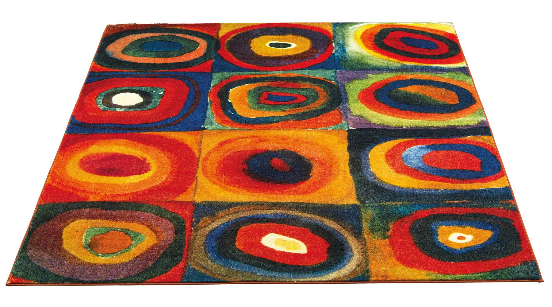 """Teppich """"Farbstudie Quadrate"""" (230 x 160 cm)"""