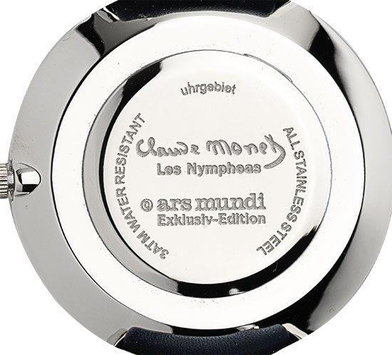 """Künstler-Armbanduhr """"Monet - Les Nymphéas"""""""
