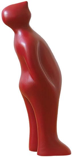 "Keramikfigur ""The Visitor"" (Mini-Version, Höhe 18,5 cm, rubia)"