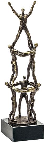 """Skulptur """"Gemeinsam zum Erfolg"""""""