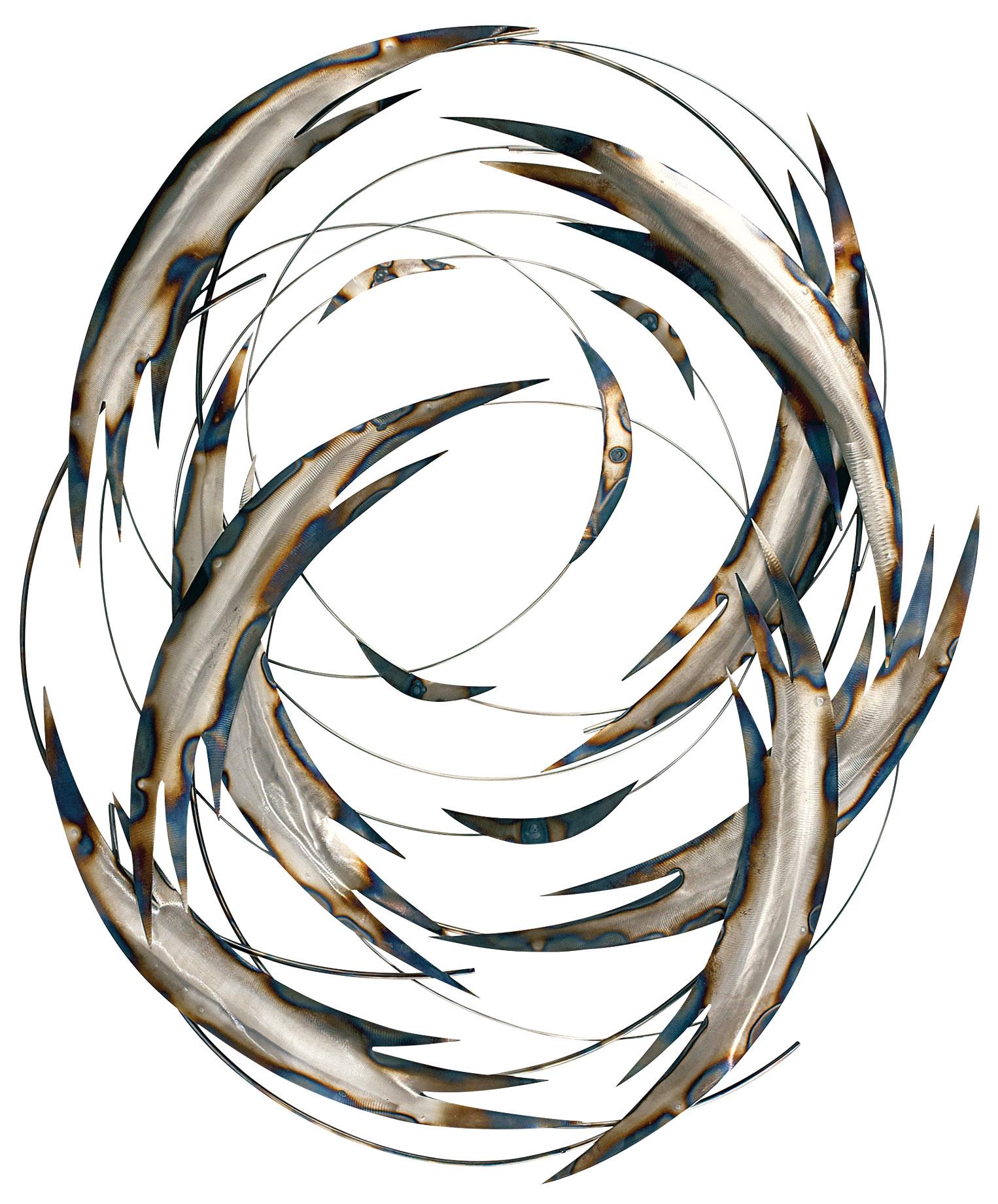 """Wandskulptur """"Tail Spin"""""""