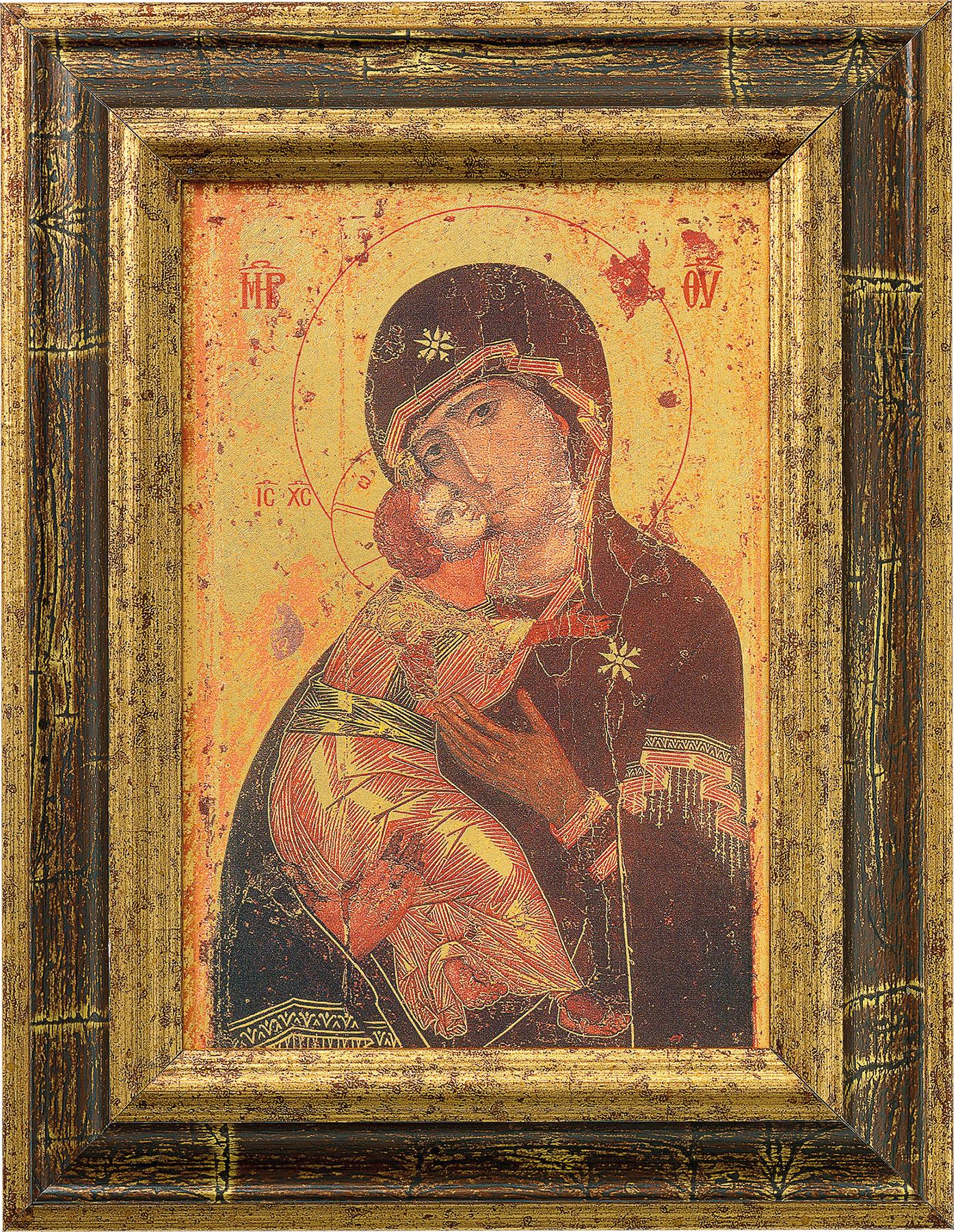 """Bildikone """"Madonna von Vladimir"""""""