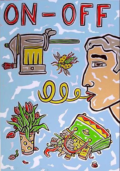 """Bild """"ON-OFF"""" (2002), ungerahmt"""
