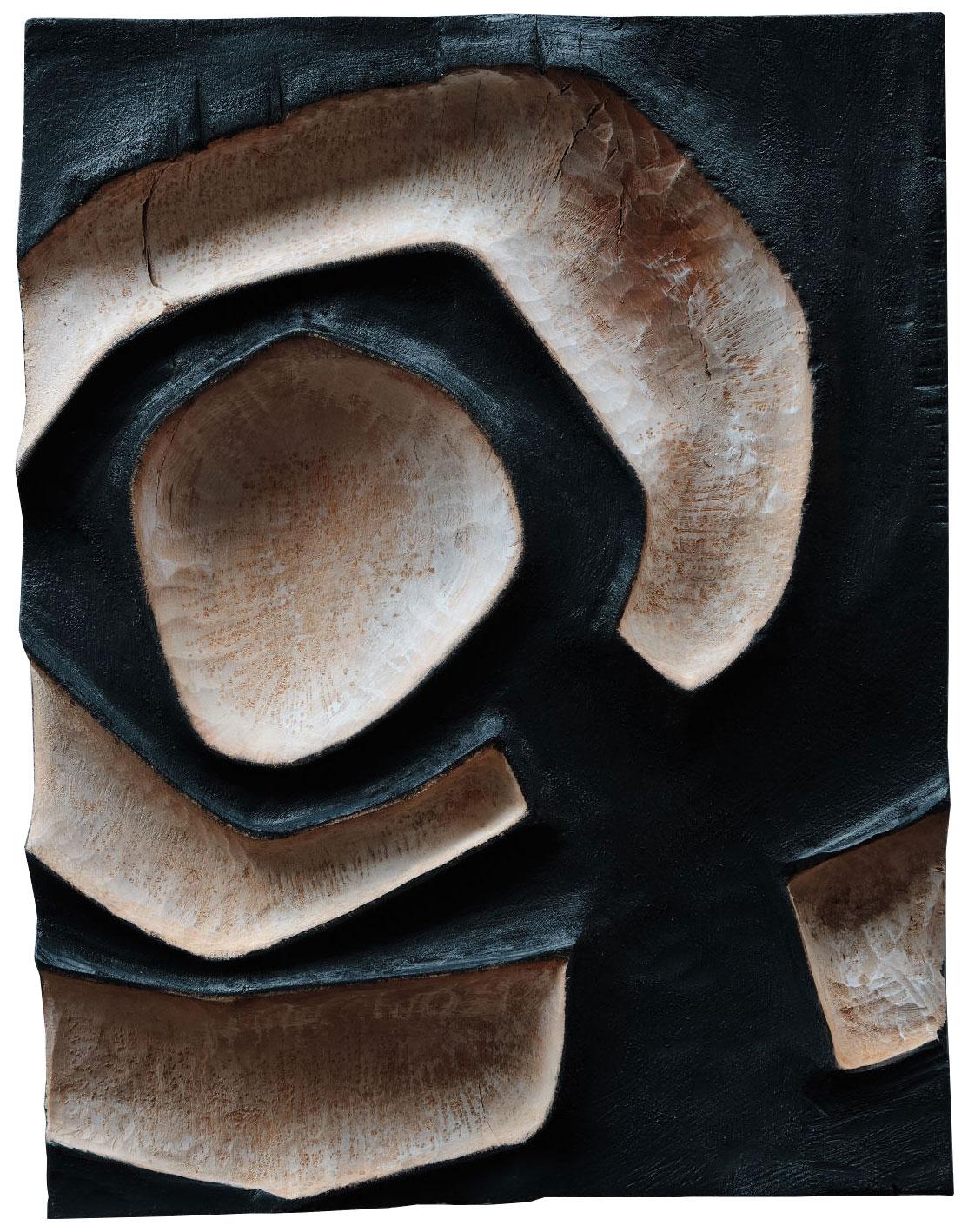 "Wandskulptur ""#0121"" (2021) (Original / Unikat), Holz"