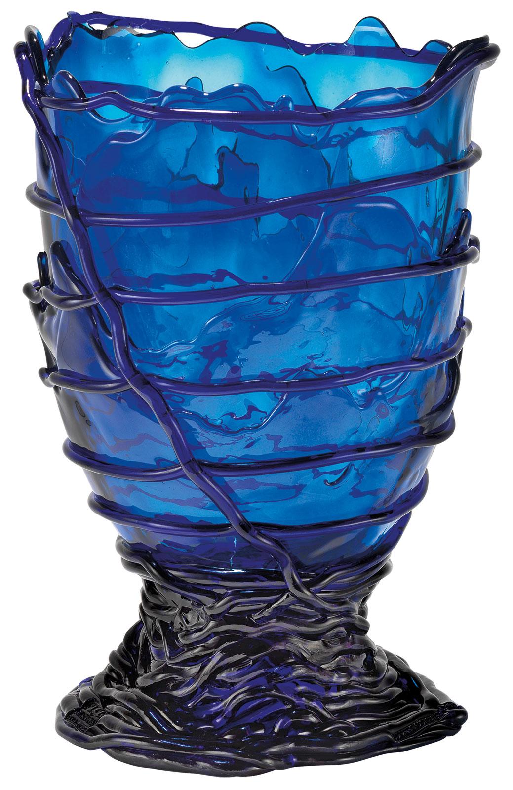 """Vase """"Pompitu II blau"""", Silikon"""
