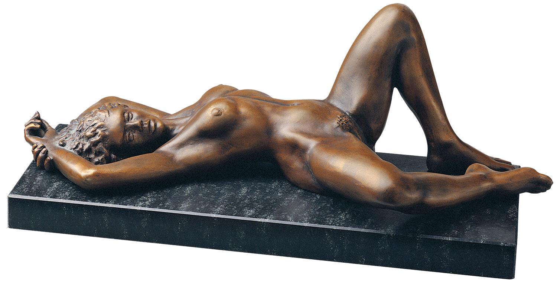 """Skulptur """"Europa"""" (1992), Version in Bronze"""