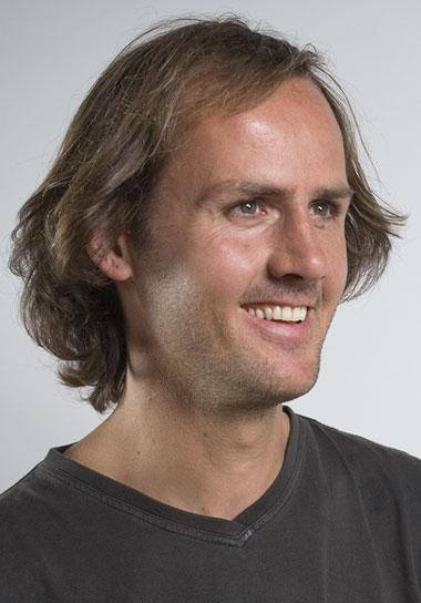 Porträt des Künstlers Eric Perathoner