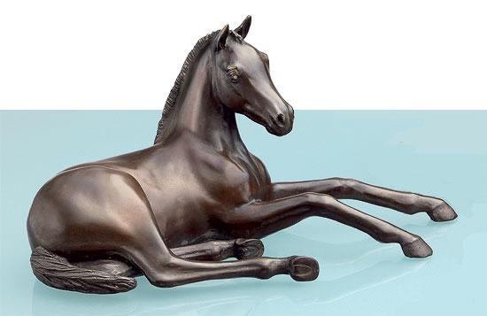 """Pferdeskulptur Araber-Fohlen """"Young Dream"""", Bronze"""
