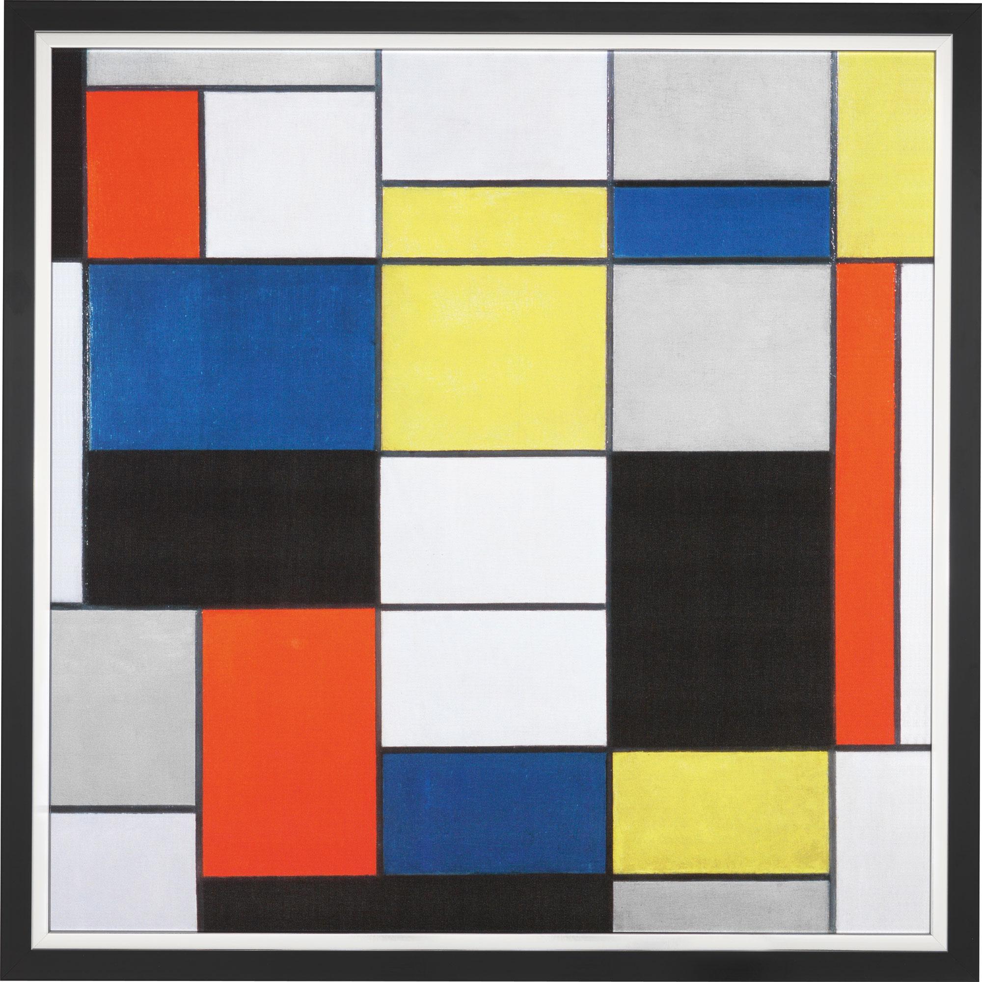 """Bild """"Composition A"""" (1920), gerahmt"""