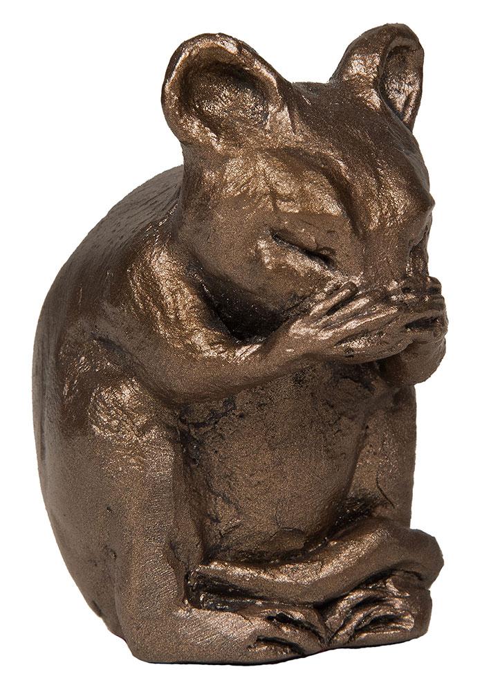"""Skulptur """"Mortimer Mouse"""", Kunstbronze"""