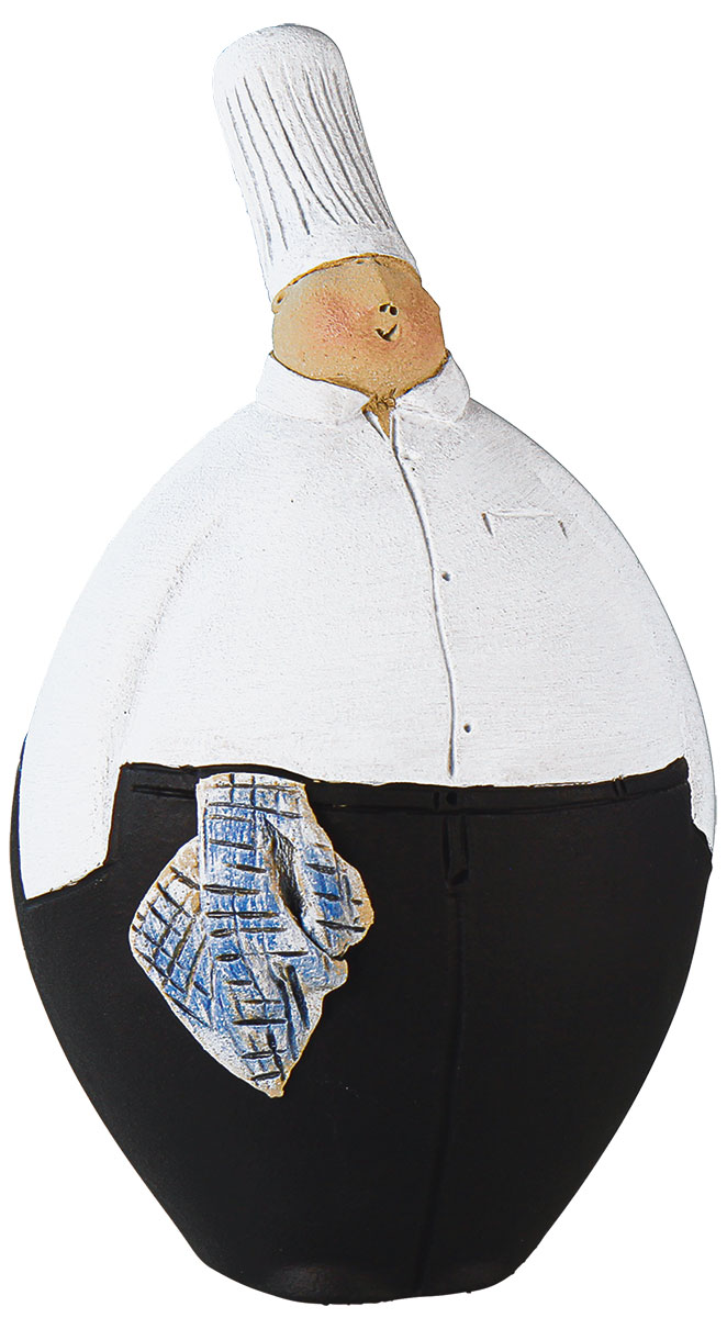 """Deko-Objekt """"Koch Fred"""", Keramik"""