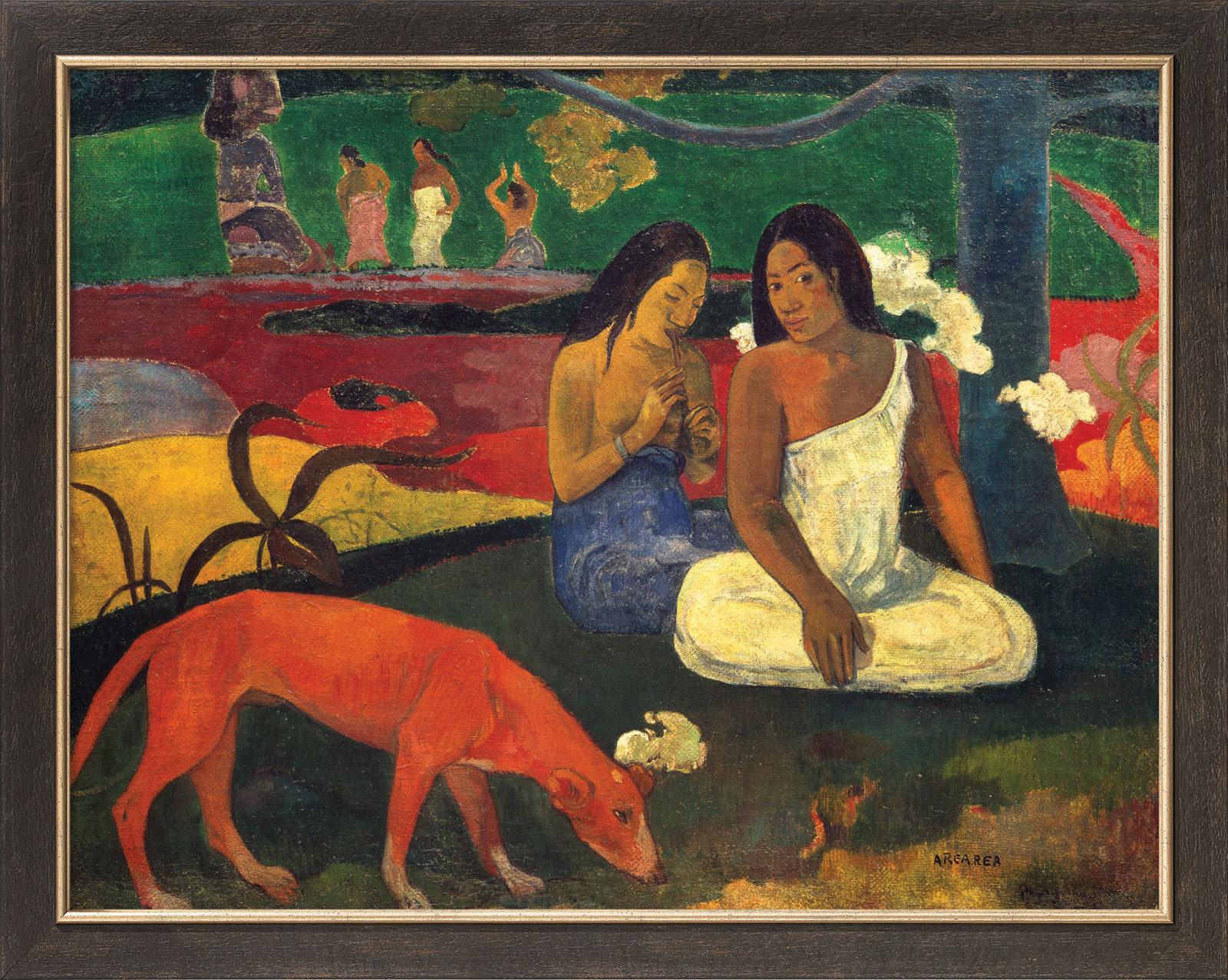 """Bild """"Arearea"""" (1892), gerahmt"""