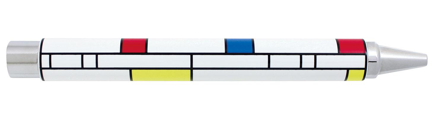 Künstler-Tintenroller - nach Piet Mondrian