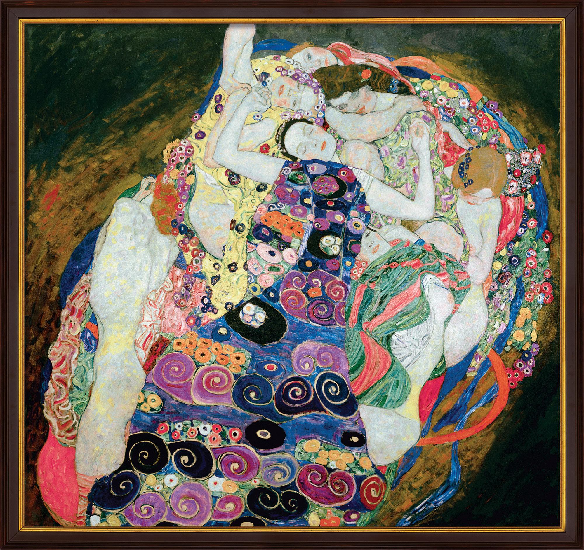 "Bild ""The Virgins (Jungfrauen)"" (1913), gerahmt"