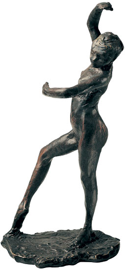"Skulptur ""Spanische Tänzerin"", Version in Bronze"