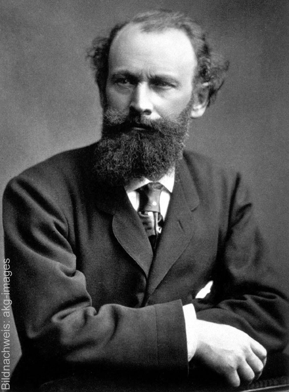 Porträt des Künstlers Edouard Manet