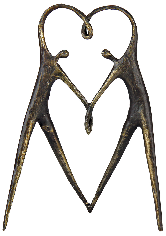 """Skulptur """"Herzensangelegenheit"""""""