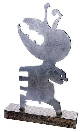 """Skulptur """"Archetyp - Vater und Kind"""" (2010)"""
