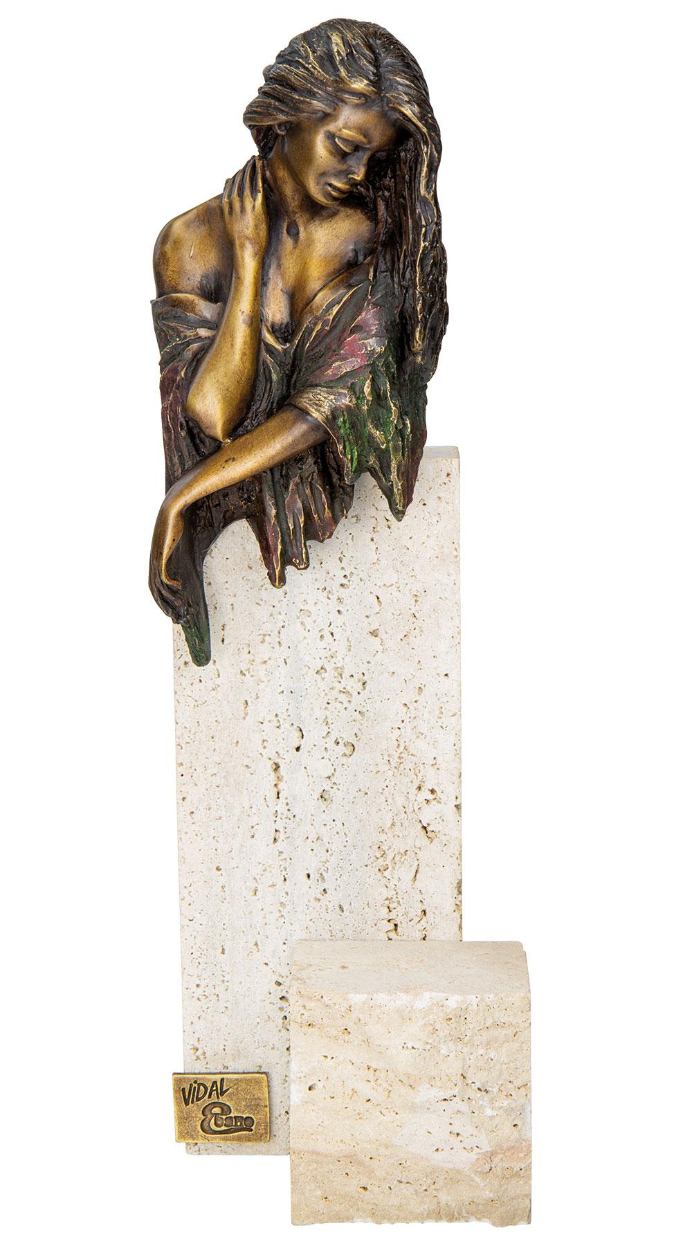 "Skulptur ""Evenfall - La Gracia"", Bronze"