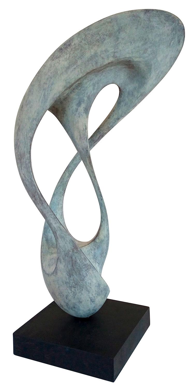 "Skulptur ""Atmung 8"" (2016), Bronze"