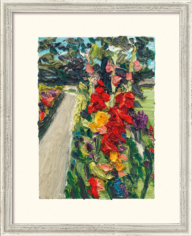 """Bild """"Garten Villa Liebermann IX"""" (2014), gerahmt"""