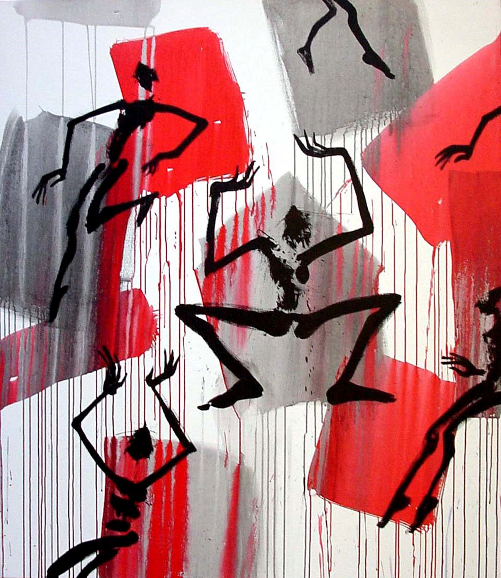 """Bild """"Höllensturz (M 02 082)"""" (2002) (Unikat)"""