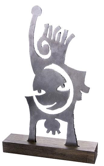 """Skulptur """"Archetyp - Mutter und Kind"""" (2010)"""
