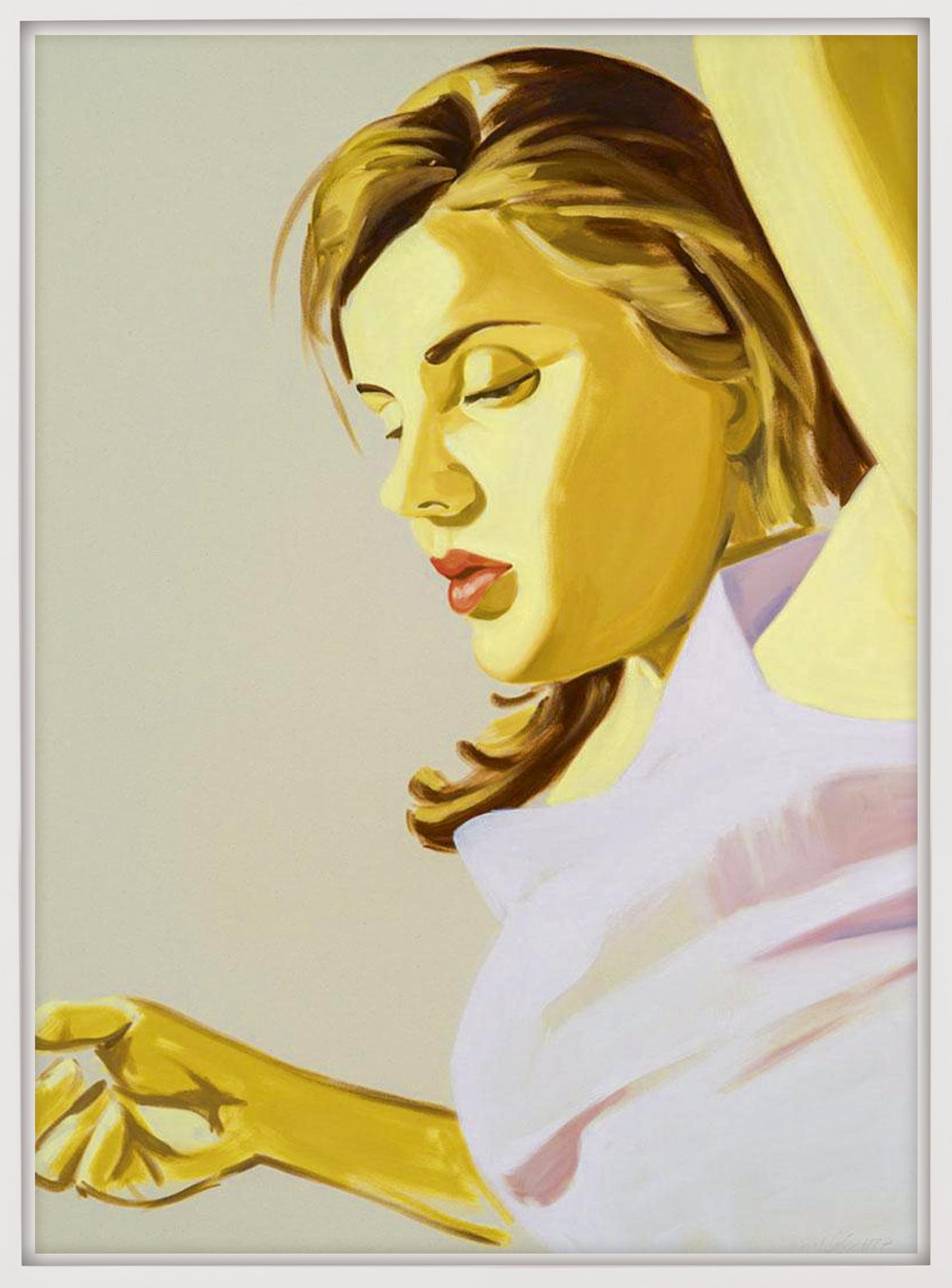 "Bild ""Woman with raised arm"" (2020)"