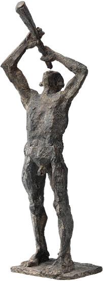 """Skulptur """"Sternengucker"""", Bronze"""