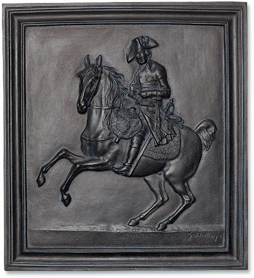 """Wandrelief """"Friedrich der Große zu Pferd"""" (1807)"""