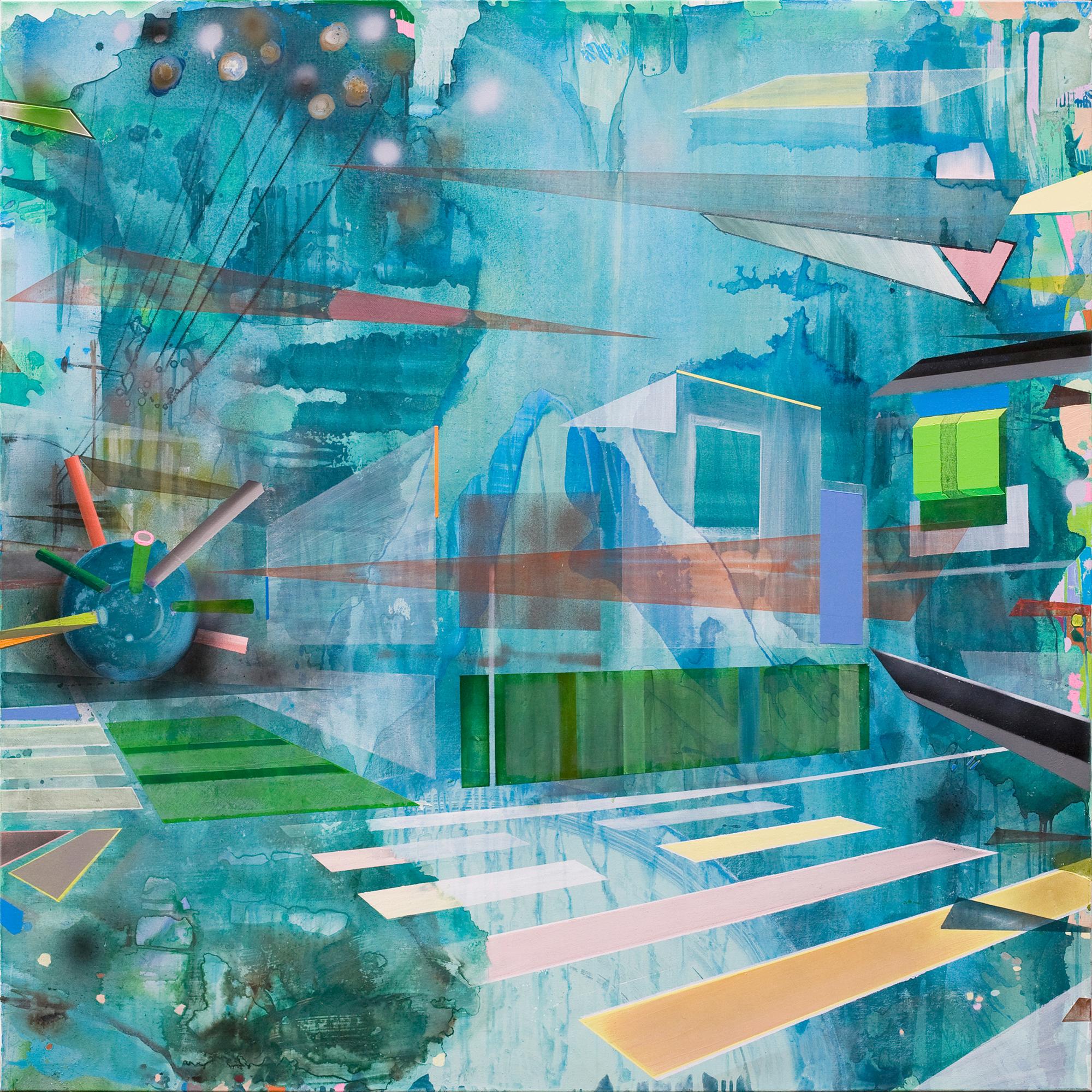 """Bild """"An der Kreuzung"""" (2013) (Unikat)"""