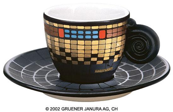 "Espressotasse ""Fernwärme Wien Turm"""