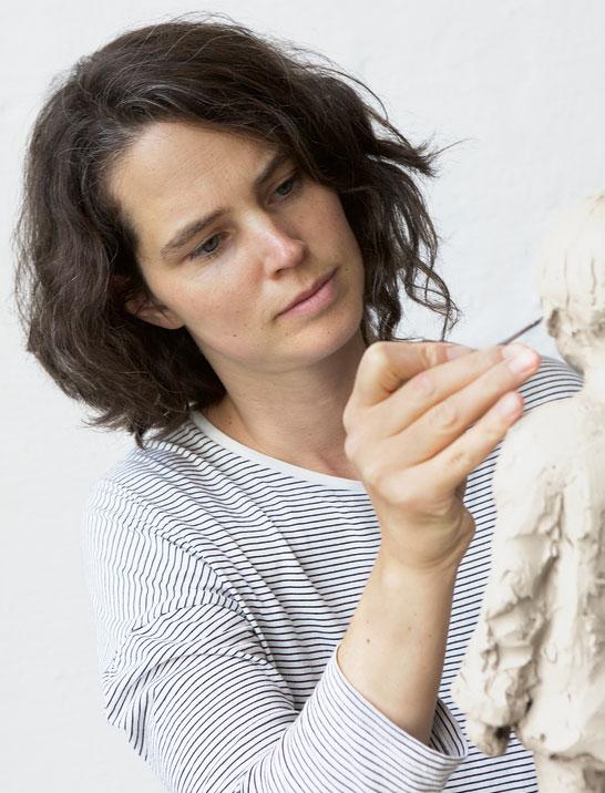 Porträt der Künstlerin Valerie Otte