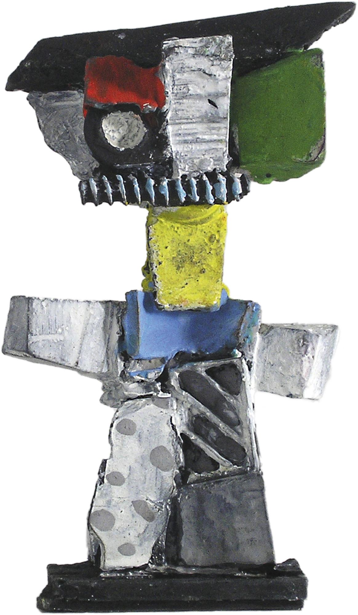 """Skulptur """"Figur 2"""" (2019), Bronze"""