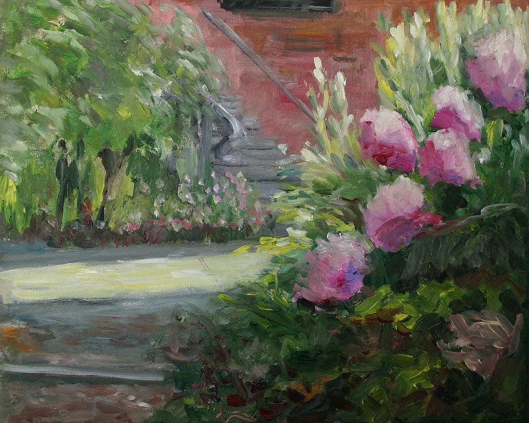 "Bild ""Garten"" (2020) (Original / Unikat), ungerahmt"