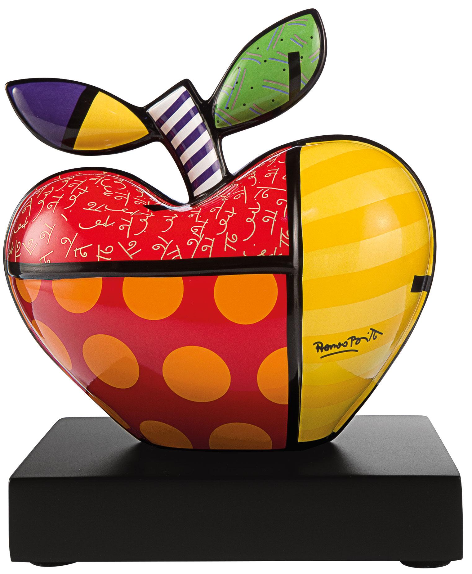 """Porzellanobjekt """"Big Apple"""" (kleine Version)"""
