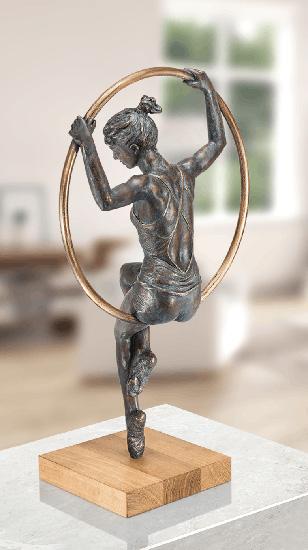 "Skulptur ""Al Cerchio"" (2018), Bronze"