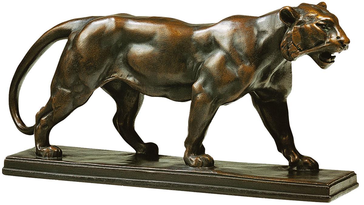 """Skulptur """"Panther"""", Version in Kunstbronze"""