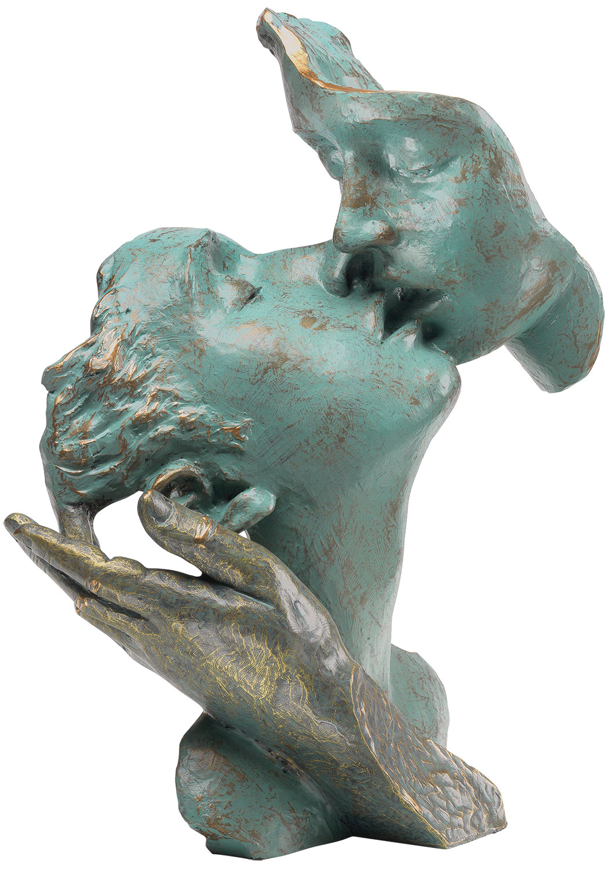 "Skulptur ""Der Kuss"", Kunstguss Steinoptik"