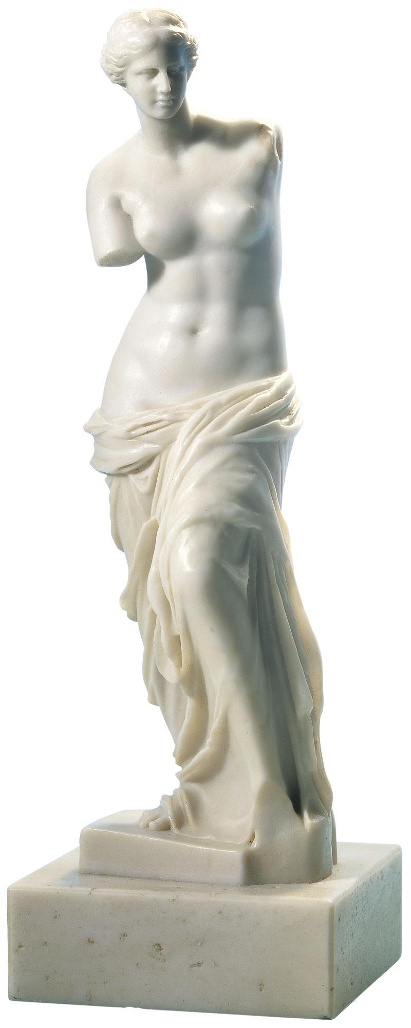 "Skulptur ""Venus von Milo"" (Reduktion, Höhe 32 cm), Kunstmarmor"