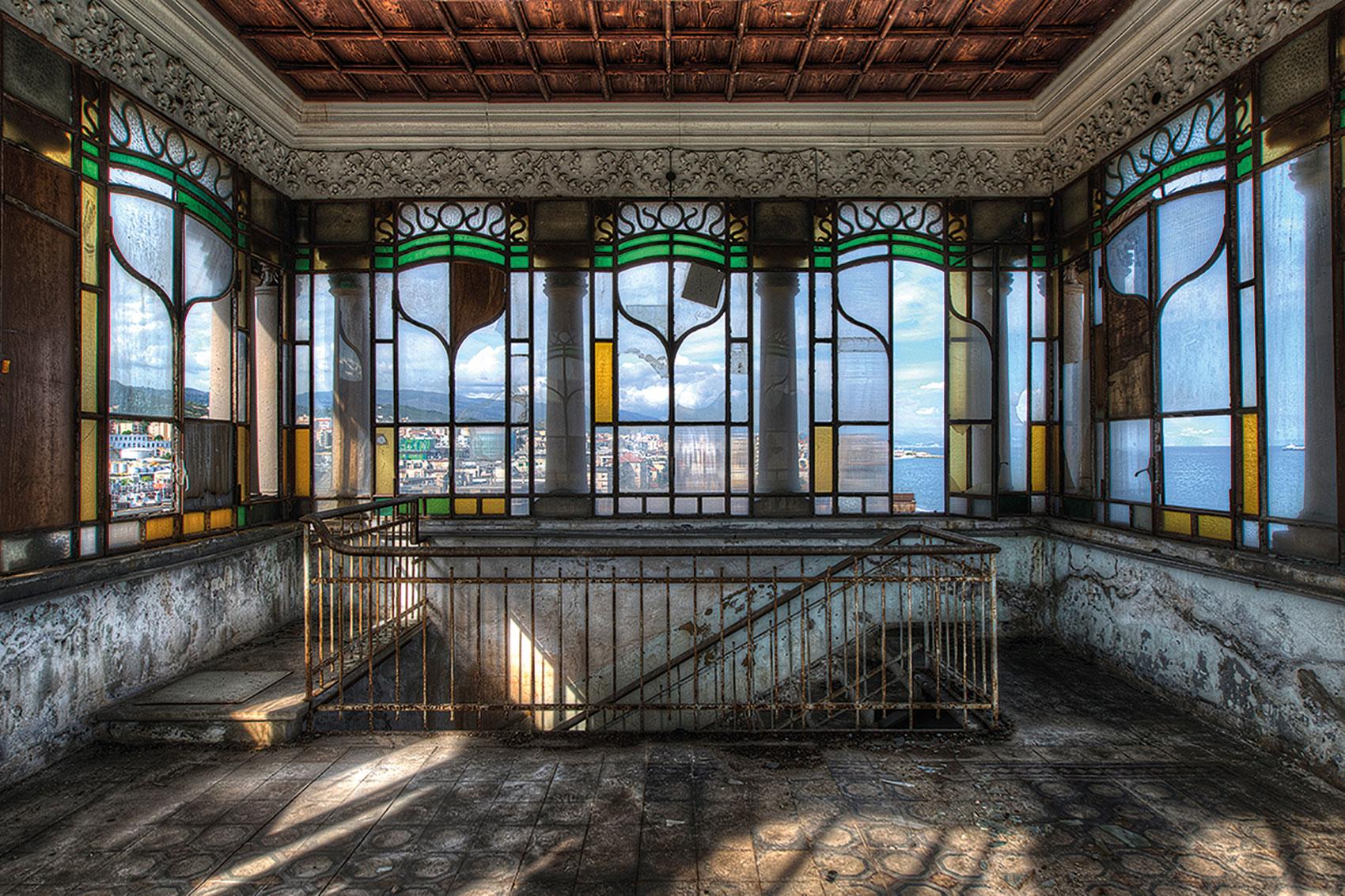 Olivier Lacour: Bild 'Glas in lood'